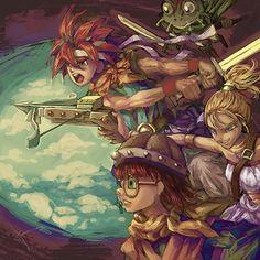 Chrono Trigger by ~Hooooon. Oooh nostalgia FTW