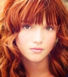 Bella Thorne red hair inspiration!