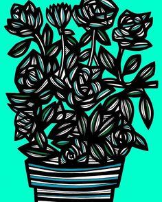 #flower #flowers #flores #floral #nature #plant #love #pretty #cute #beautiful #beauty #art #arts #artinnyc #artstudio #artist #artists #artwork #artworks #illustration #illustrations #drawing #drawings #arte #artes #artistsofinstagram #instaart #instaartist