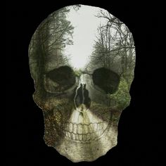 Forest Skull is a T Shirt designed by JOHANNESART to illustrate your life and is available at Design By Humans