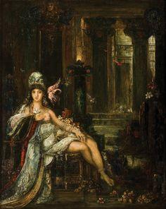Gustave Moreau, Dalila, c.1890, Oil on canvas, 0,80 x 0,65 m, Musée Gustave Moreau, Paris