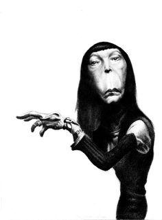 Brigitte Fontaine caricature