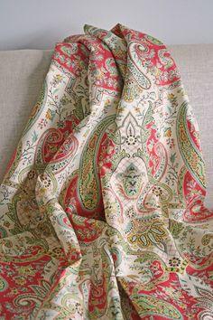 Lyrical Legend, Radish Fabric by Waverly