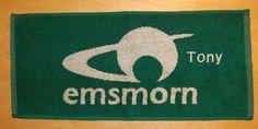 PERSONALISED EMBROIDERED NAME EMSMORN BOWLS BOWLING CLOTH ANY NAME FREEPOST UK