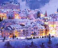 Thanks for mentioning Mont Tremblant, Quebec, Canada (#3)! One of our #IntrawestPassport ski resorts! #PassportFam