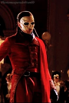 Erik(Phantom,I don't know his last name) from The Phantom of the Opera(2004) <3333, well hello there handsome!! x3