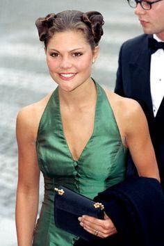 Princess Victoria of Sweden...Green Goddess