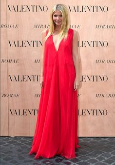 Gwyneth Paltrow en Valentino #HauteCoutureValentino