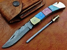 Hey, I found this really awesome Etsy listing at https://www.etsy.com/listing/172694096/titans-fabulous-hand-made-damascus