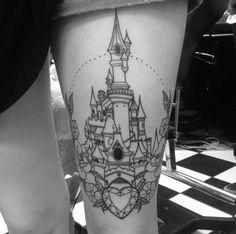Magic Kingdom Tattoo by Clara Welsh