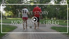 Morgan + Greg's Love Story Film (engagement video) which they used to share their story (how they met, proposal) with all their wedding guests.