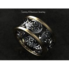 Lotus Blossoms Custom Engagement Ring
