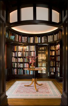 You can add a home library in your a home if you like reading. A home library is an optional area for some people. But if you like reading, you may think that it is a required area in your home. To make a home library, you should have bookshelf, libr Kb Homes, Library Room, Dream Library, Mini Library, Library Ladder, Beautiful Library, Home Library Design, House Design, Library Ideas
