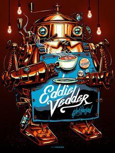 Eddie Vedder Melbourne Print x MUNK ONE