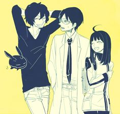 World Trigger Yuma Osamu and Chika older