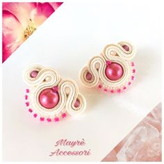 Un preferito personale dal mio negozio Etsy https://www.etsy.com/it/listing/526028823/soutache-earrings-orecchini-in-soutache