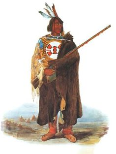 Young Amerindian  - Karl Bodmer