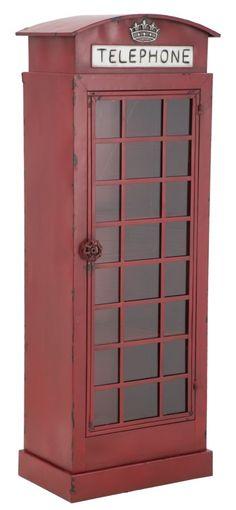 #MauroFerrettiSrl  1419970000 CABINA TELEFONO LONDON CM 40X27X110 #mauroferrettisrl #home #homedecor #decor #casa #arredo #arredamento #cabina #telefono #cabinatelefonica #iron #ferro #industrial #vintage #london #telephone #red #newitem #newlook #italiansdoitbetter