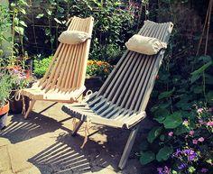 Nordec foldable garden chair