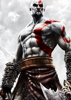 God of War Ascension, I want to have his body workout! :D haha