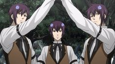 black butler triplets - Google Search
