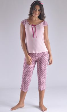 Pijama modera y juvenil clima caliente Colombia Cute Sleepwear, Lingerie Sleepwear, Nightwear, Cute Pjs, Cute Pajamas, Night Suit, Night Gown, Pyjamas, Pijamas Women
