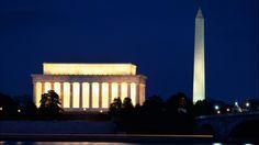 Lincoln Memorial and the Washington Monument, Washington, DC