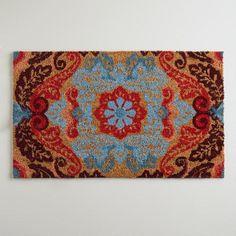One of my favorite discoveries at WorldMarket.com: Juliana Doormat