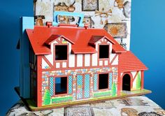 Fisher Price Little People House - circa 1984