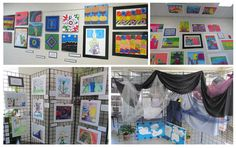 Artwork @ Richland... Curriculum, Preschool, Gallery Wall, Student, Spring, Artwork, Home Decor, Faith, Resume