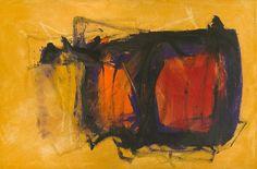 CLEVE GRAY (1918-2004) Peach Basket #3, 1981 40 x 60 in. (101.6 x 152.4 cm)