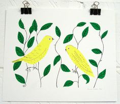 Hannah Waldron: 2 canaries