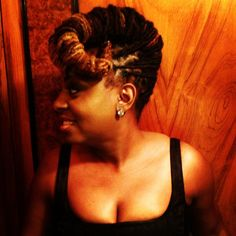 Hairstyle Ledisi put on prior to her show in Houston,TX