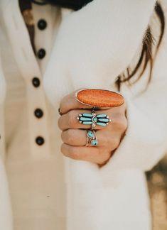 Western Jewelry, Boho Jewelry, Jewelery, Fine Jewelry, Jewelry Box, Bracelet Turquoise, Turquoise Rings, Vintage Turquoise, Turquoise Outfits