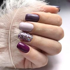 mix and match nail colors mix and match acrylic nails nail designs nail art desi. mix and match nail colors mix and match acrylic nails nail designs nail art designs nails fall nail colors 2019 fall nails 2019 autumn nails co Trendy Nails, Cute Nails, My Nails, Shellac Nails, Stiletto Nails, Coffin Nails, Fall Acrylic Nails, Autumn Nails, Acrylic Colors