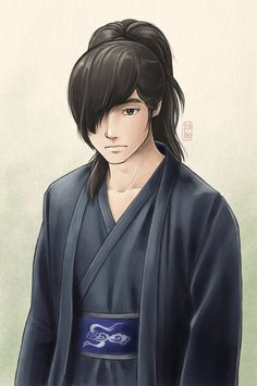 "Gu wol ryung from kdrama ""Gu Family Book"" still didn't finish the drama. but I liked gu wol ryung (^_^) Gu wol ryung Dragon Heart, G Dragon, Anime Chibi, Anime Art, Big Bang Top, Gu Family Books, Water Tribe, Moon Lovers, Fanart"
