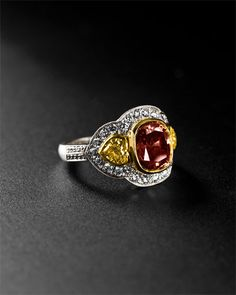 Super expensive ring by Rahaminov but it's free to look and dream. ....Soooooo pretty though!