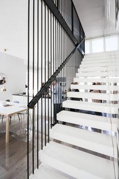 Eteinen kohteessa Vivola, Asuntomessut 2015 Vantaa Stairways, Modern, Inspiration, Design, Home Decor, Stairway, Classroom, Stairs, Biblical Inspiration