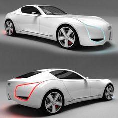 Audi D7 Concept Car 1