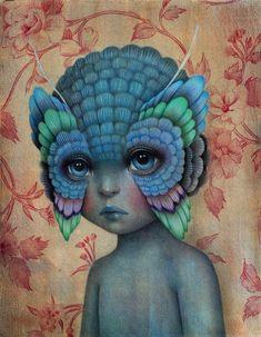 Imagen: Raul Guerra «Metamorfosi: il·lustracions de papallones». ArtículoND: «Los futuros bebés son las nuevas fronteras».