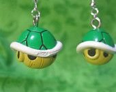 Super Mario Earrings - Boo