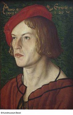 Oberrheinischer Meister (Umkreis des Hans Baldung Grien) Bildnis des Basler Junkers Jakob Meyer zum Pfeil, 1511 Portrait of Jakob Meyer zum Pfeil of Basel