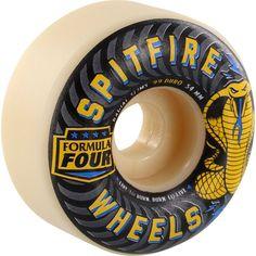 Spitfire Formula Four 99a Radial Slims 54mm Skateboard Wheels