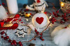Lilinask / Guľa na vianočný stromček