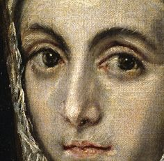 El Greco (Spanish) The Virgin Mary Detail