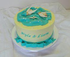 Twins Baby-Shower Cake