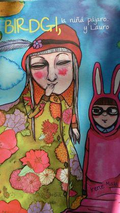 Birdgi, la niña pajaro y Lauro - Irene Mala