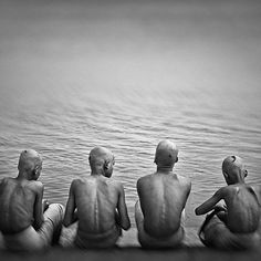 #GANGES by Victoria Knobloch #Photocircle #nofilter #longexposure #blackandwhite #photoart #India #Asia #happyfriday #happyweekend #peoplephotography #travelphotography #varanasi #children #holy  #Closethecircle - if you buy this photo Victoria Knobloch and Photocircle #donate 11% of the sales price to our #education project in #Bangladesh.