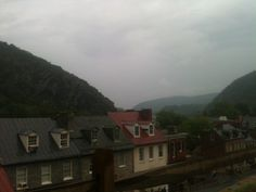 Traveling with kids. Harper's Ferry West Virginia.