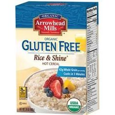 Arrowhead Mills Organic Gluten Free Rice & Shine (6x24 OZ)